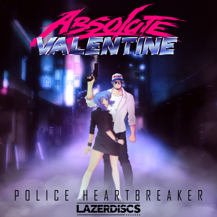 Absolute ValentinePolice Heartbreaker-Outrun-Art