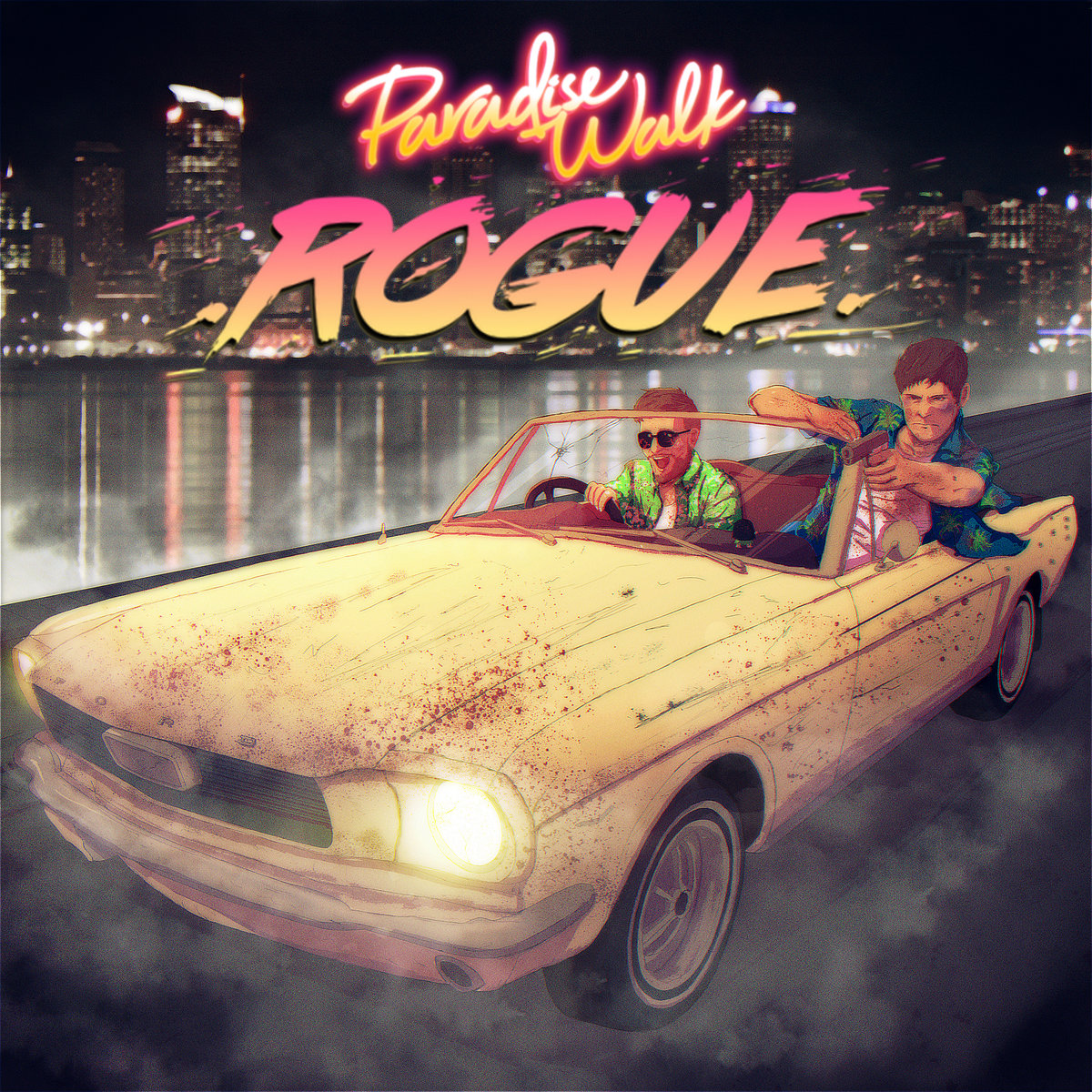 PARADISE WALKRogue - EP-PARADISE WALK-Art