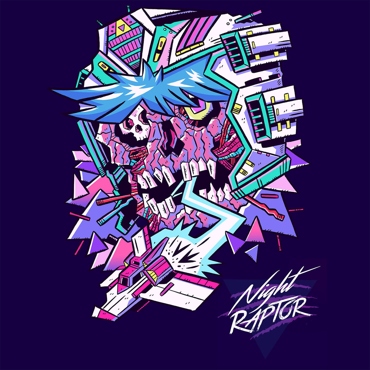 Night RaptorNight Raptor EP-Night Raptor-Art