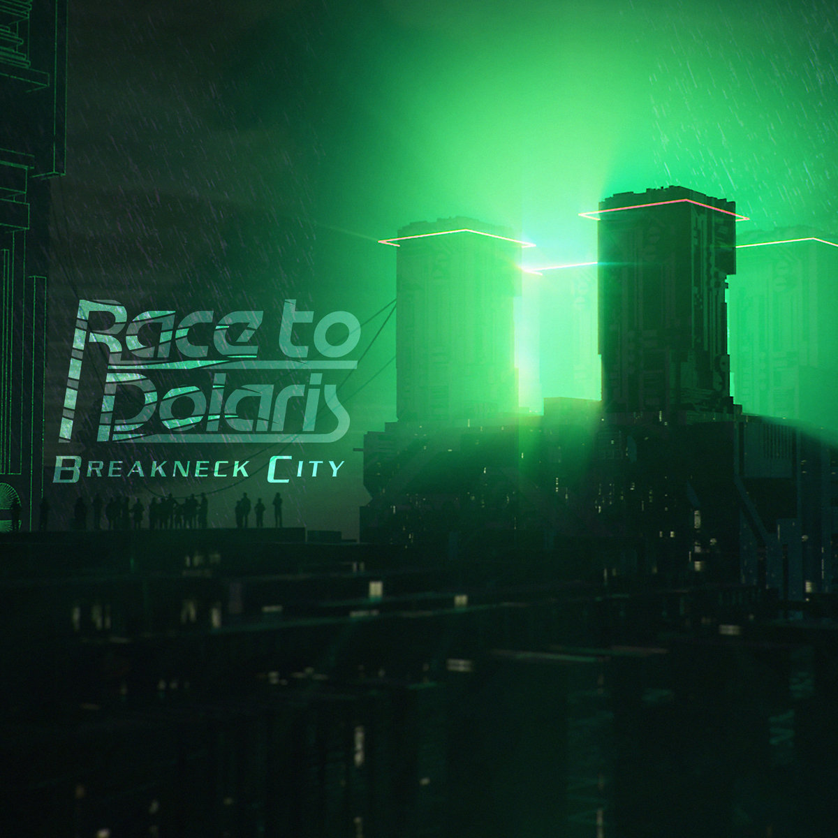 Race to PolarisBreakneck City-Race to Polaris-Art