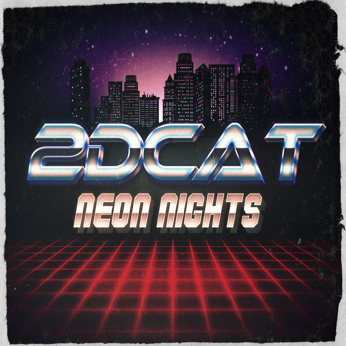 2DCATNeon Nights-2DCAT-Art