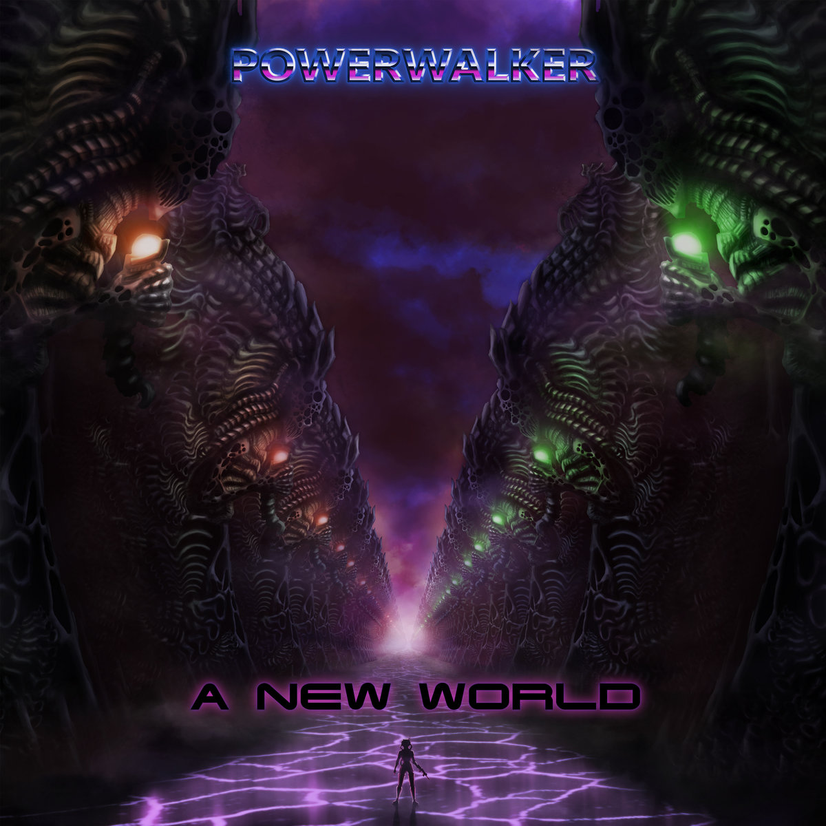 The PowerwalkerA New World-The Powerwalker-Art