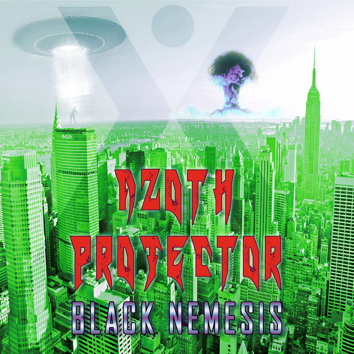 Werkstatt Recordings292. AZOTH PROJECTOR - Black nemesis-Werkstatt Recordings-Art